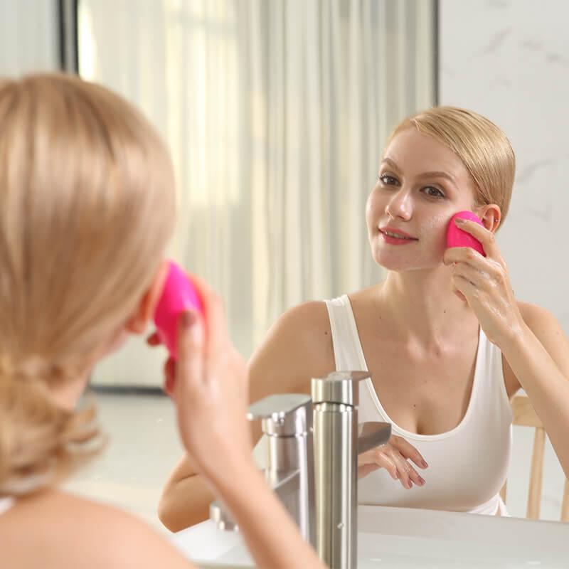 come si usa spazzola per pulizia viso